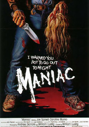 critica-de-maniac-de-william-lustig-poster-y-cartel