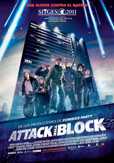 crítica-attack-the-block-poster-y-cartel Attack The Block Attack The Block cr  tica attack the block poster y cartel