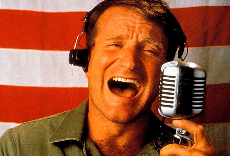 Robin Williams en Good Morning Vietnam Robin Williams