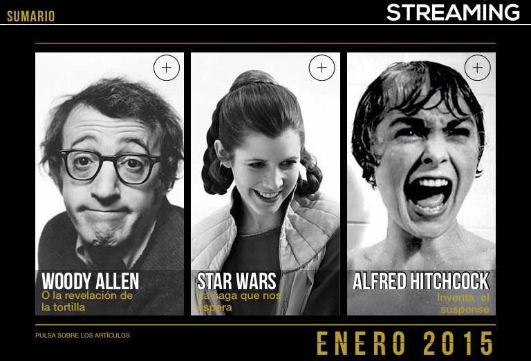 Sumario de la revista streaming cine y series revista Streaming